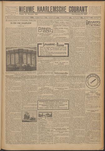 Nieuwe Haarlemsche Courant 1924-11-21