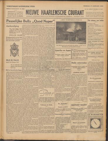 Nieuwe Haarlemsche Courant 1933-01-17