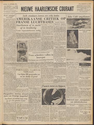 Nieuwe Haarlemsche Courant 1952-09-30