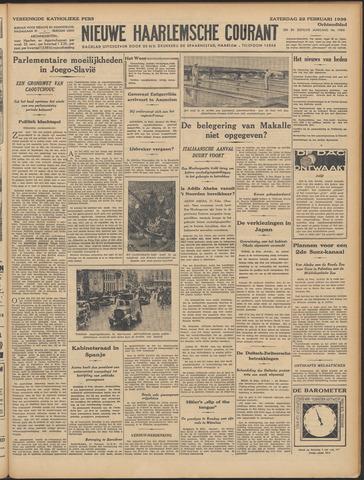 Nieuwe Haarlemsche Courant 1936-02-22