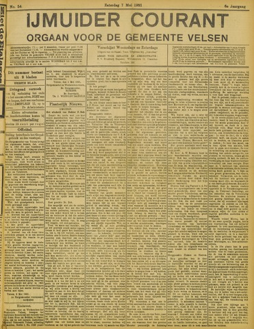 IJmuider Courant 1921-05-07