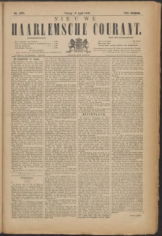 Nieuwe Haarlemsche Courant 1889-04-19