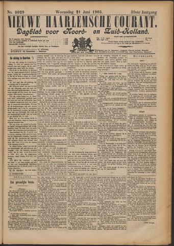 Nieuwe Haarlemsche Courant 1905-06-21