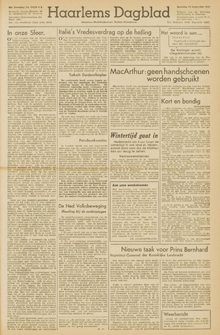Haarlem's Dagblad 1945-09-15