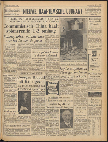 Nieuwe Haarlemsche Courant 1962-09-10