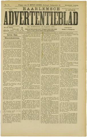 Haarlemsch Advertentieblad 1895-08-14
