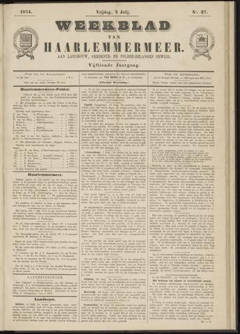 Weekblad van Haarlemmermeer 1874-07-03