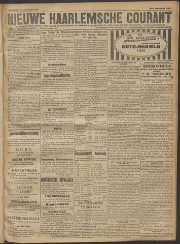 Nieuwe Haarlemsche Courant 1918-11-09