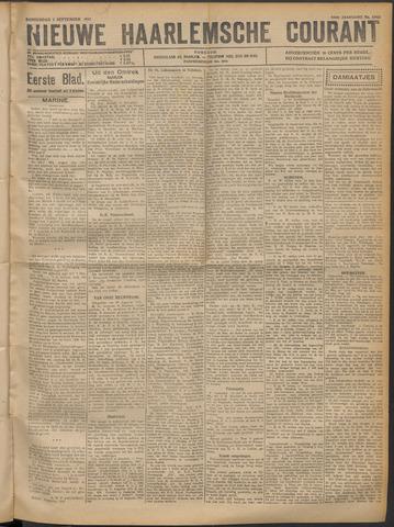 Nieuwe Haarlemsche Courant 1921-09-01