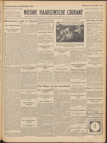 Nieuwe Haarlemsche Courant 1932-10-25