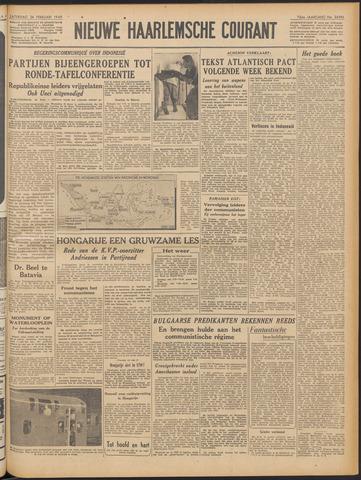 Nieuwe Haarlemsche Courant 1949-02-26