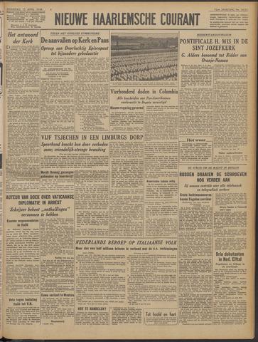 Nieuwe Haarlemsche Courant 1948-04-12