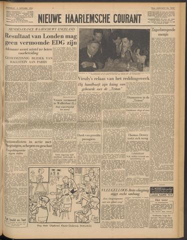 Nieuwe Haarlemsche Courant 1954-09-08