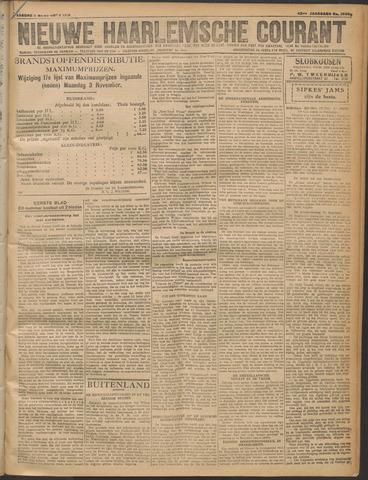 Nieuwe Haarlemsche Courant 1919-11-03