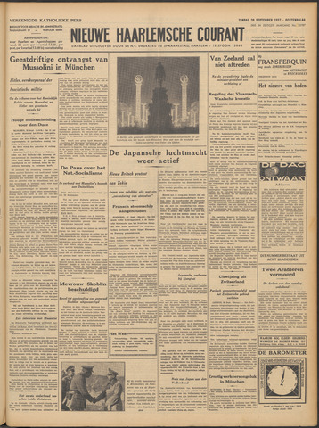 Nieuwe Haarlemsche Courant 1937-09-26