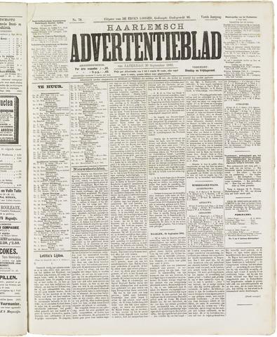 Haarlemsch Advertentieblad 1882-09-30
