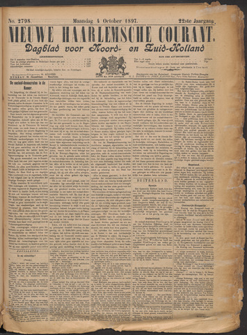 Nieuwe Haarlemsche Courant 1897-10-04