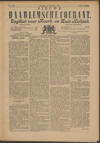 Nieuwe Haarlemsche Courant 1896-11-25