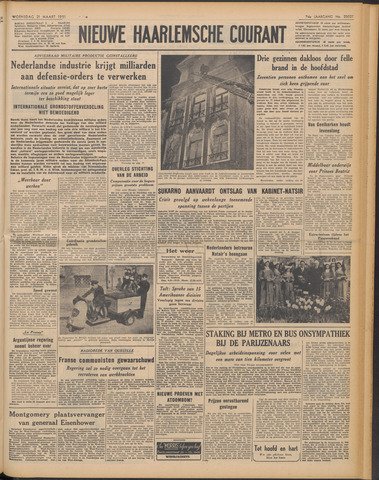 Nieuwe Haarlemsche Courant 1951-03-21