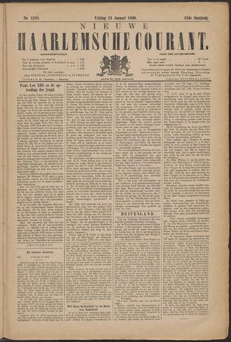 Nieuwe Haarlemsche Courant 1888-01-13