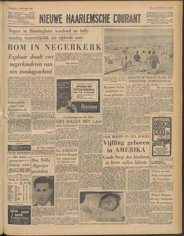 Nieuwe Haarlemsche Courant 1963-09-16