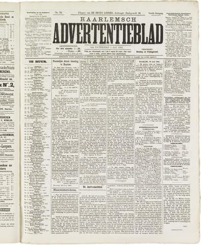 Haarlemsch Advertentieblad 1882-07-01