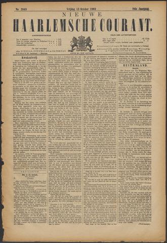 Nieuwe Haarlemsche Courant 1893-10-13