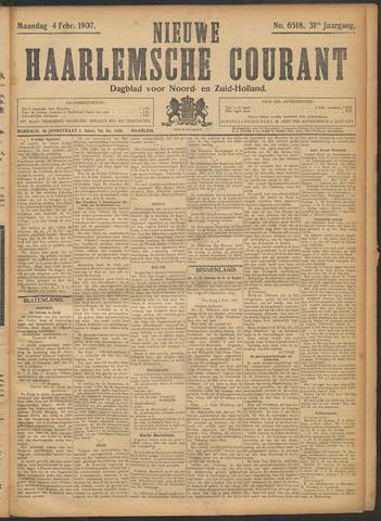 Nieuwe Haarlemsche Courant 1907-02-04