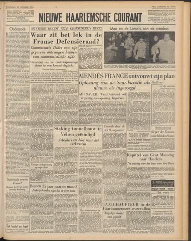 Nieuwe Haarlemsche Courant 1954-09-29