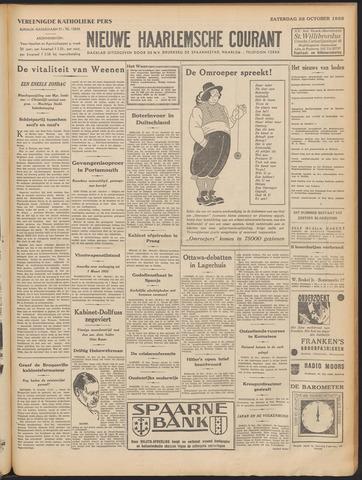 Nieuwe Haarlemsche Courant 1932-10-22