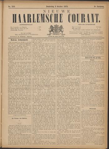 Nieuwe Haarlemsche Courant 1879-10-09