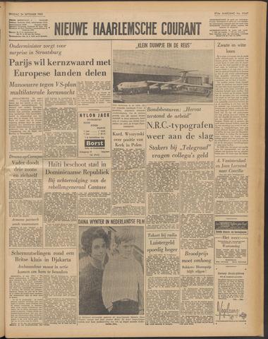 Nieuwe Haarlemsche Courant 1963-09-24