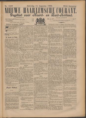 Nieuwe Haarlemsche Courant 1903-08-15
