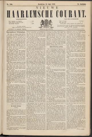 Nieuwe Haarlemsche Courant 1883-06-14
