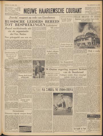 Nieuwe Haarlemsche Courant 1953-04-25