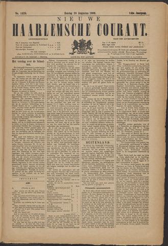 Nieuwe Haarlemsche Courant 1889-08-18