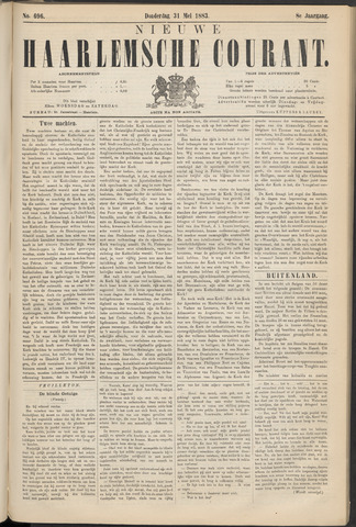 Nieuwe Haarlemsche Courant 1883-05-31