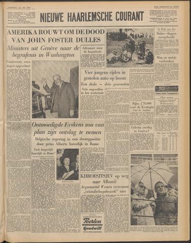 Nieuwe Haarlemsche Courant 1959-05-25