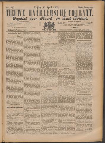 Nieuwe Haarlemsche Courant 1903-04-17