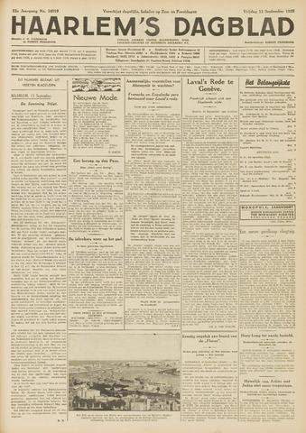 Haarlem's Dagblad 1935-09-13