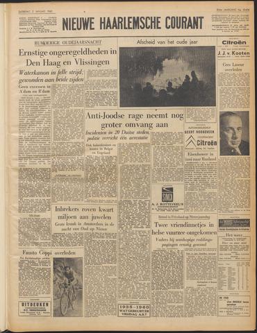 Nieuwe Haarlemsche Courant 1960