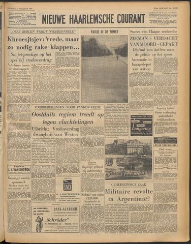 Nieuwe Haarlemsche Courant 1961-08-12
