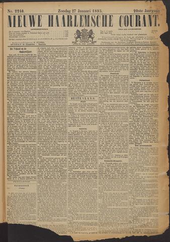 Nieuwe Haarlemsche Courant 1895-01-27