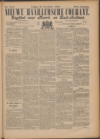 Nieuwe Haarlemsche Courant 1903-11-20