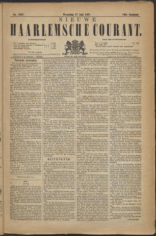 Nieuwe Haarlemsche Courant 1891-06-17