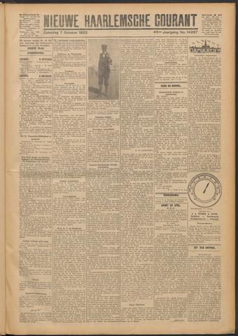 Nieuwe Haarlemsche Courant 1922-10-07