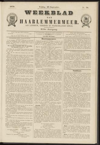 Weekblad van Haarlemmermeer 1870-09-23