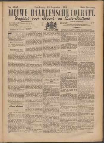 Nieuwe Haarlemsche Courant 1903-08-13