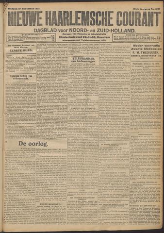 Nieuwe Haarlemsche Courant 1914-11-27