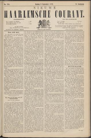 Nieuwe Haarlemsche Courant 1883-09-09